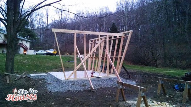 wall frames for wooden cabin pinup houses