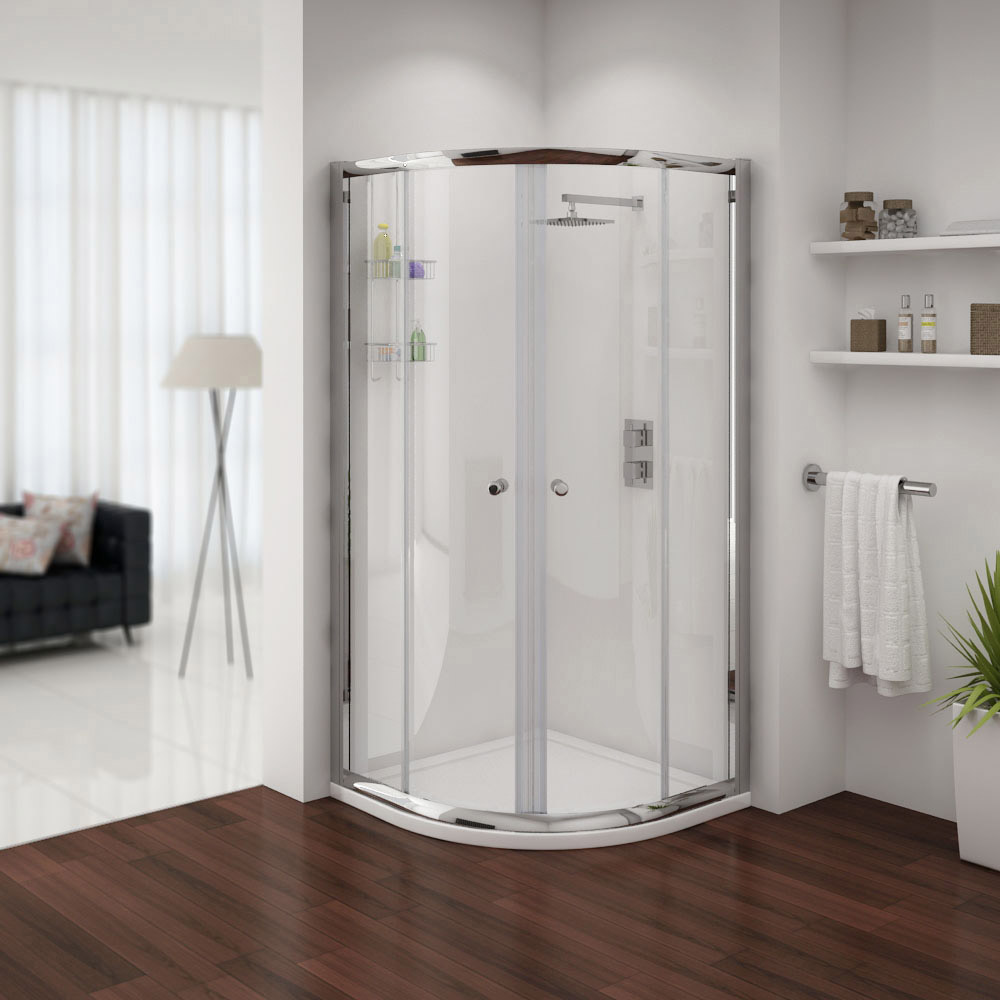 The Cove Quadrant Shower Enclosure with sliding doors