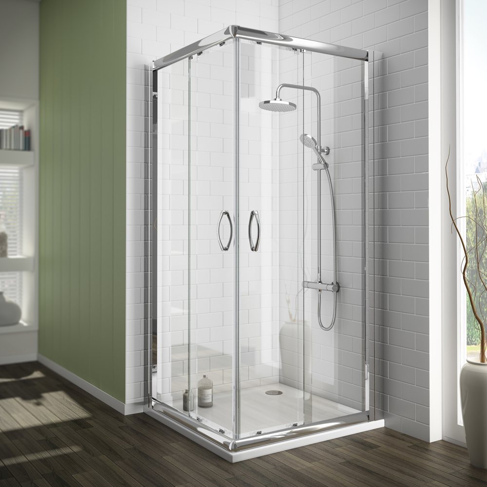 The Ventura Square Shower Enclosure with corner entry