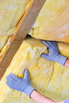 the better to insulate with foam or mineral wool