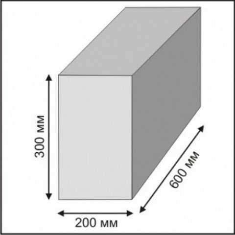 размеры газоблока для строительства дома