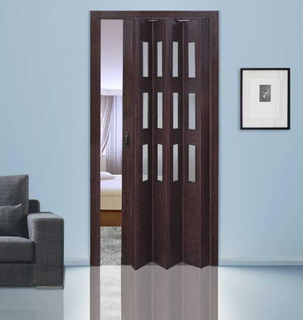 двери гармошка как установить как установить двери