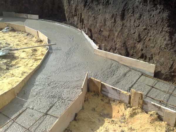 Сделать бетон белым посыпался бетон