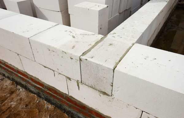клей и цементный раствор газобетон
