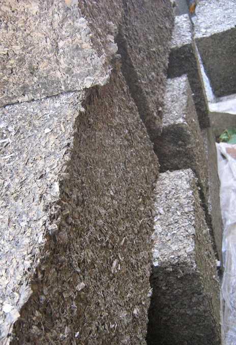 цементный раствор с опилками