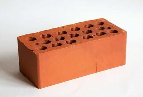 Размер и вес кирпича красного силикатного облицовочного шамотного