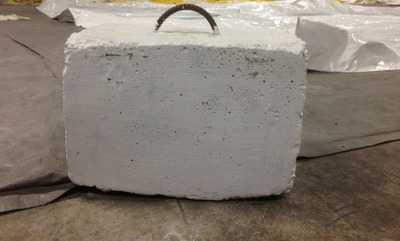 Вес высохшего бетона вода на бетоне